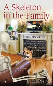 Cover of A Skeleton In The Family by Leigh Perry